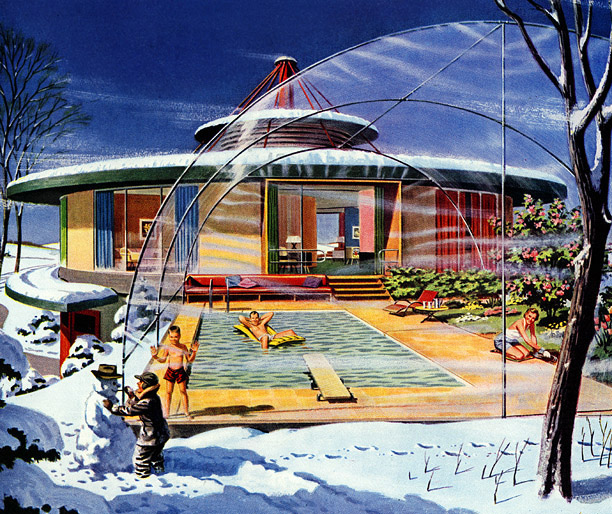 The houses of the future.