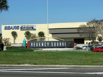 Regency Square Mall in Jacksonville, Florida.