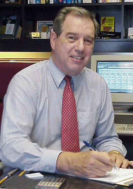 Dr. David Forster Parker at work in the 2000s