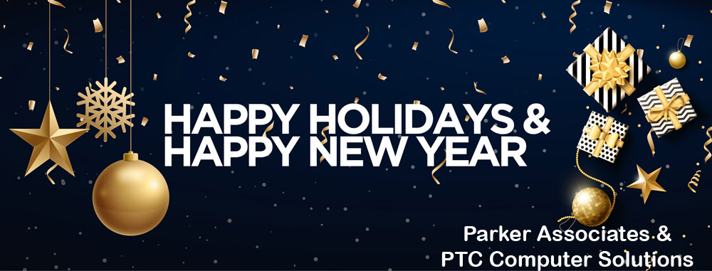 PTC-Computer-Solutions-Parker-Associates-blog-December-2019-Happy-Holidays-Happy-New-Year
