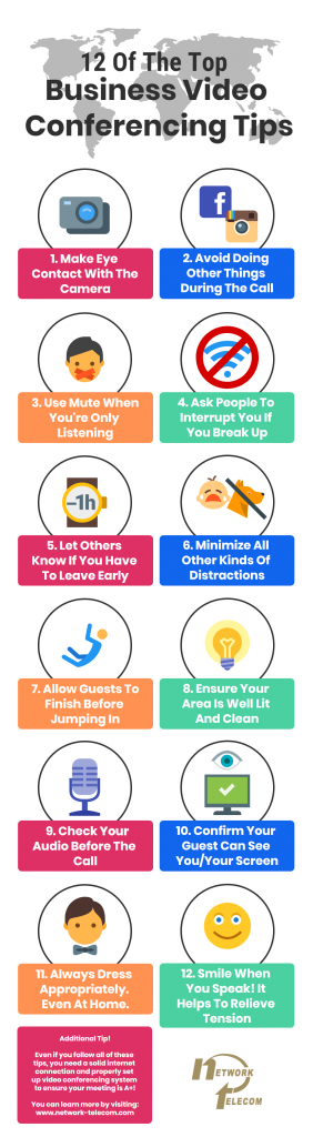 PTC-Computer-Solutions-Parker-Associates-blog-June-2020-Top-10-Video-Conferencing-Tips-Infographic